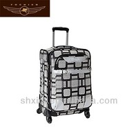 2014 hand trolley luggage with 4 wheels