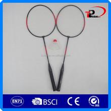 discount badminton rackets/fleet badminton racket/garden badminton set