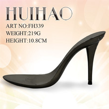 FH339 Popular high heel sole/outsole/shoe heel/women shoes 2015 popular abs shoe heels with diamond