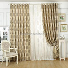 High-grade European-style linen and cotton curtain