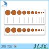 Kindergarten classroom montessori material knobbed cylinder blocks control cards