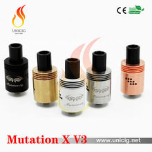 2015 new rebuildable atomizer from Unicig High quality electronic cigarette Mutation X V3