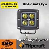 Hot sales! 6PCS/LOT! 16W LED WORKING LIGHT For Motorcycle Driving Offroad Boat Car Tractor Truck 4x4 SUV ATV 12V 24V