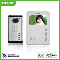 Super Cheap 4.3 inch Access control video six for dolls VDP
