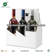 Six Bottles Cardboard Wine Carrier