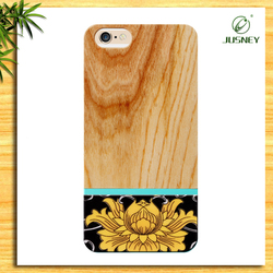 2015 new coming wholesale woodcases for iphone 6