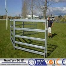 Good quality square post 2.1m x1.8m 6 rails portable horse pens