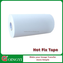Acrylic hot fix rhinestone sheet tape roll
