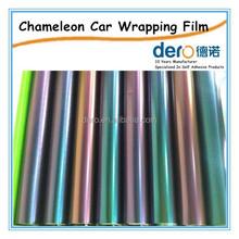 Popular product chameleon carbon fiber and color change for car wrap decoration