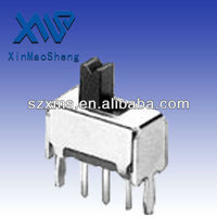 5 PIN toggle switch 0.5A SS-12D07(1P2T)