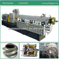 CE PP/PE plastic twin screw extruder