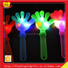 Led kids toy flash new products plastic party kids toy 2015 new party favor led hand clapper