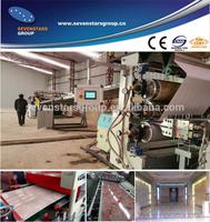 PVC imitation marble sheet/board production /extrusion line /making machine