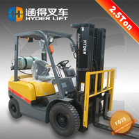 light truck 2.5t toyota forklift with quality filters