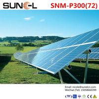300w OEM for suntech solar panel for industrial use