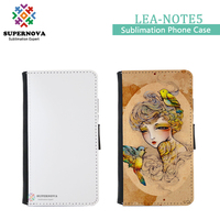 For Samsung Galaxy Note 5 Custom Printed Leather Cell Phone Cover