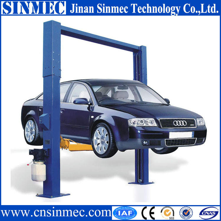 2 Post Used Home Garage Car Lift For Auto Repair Ce