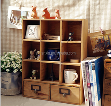 antique solid wood bedroom wardrobe closet for toy/book accessory design