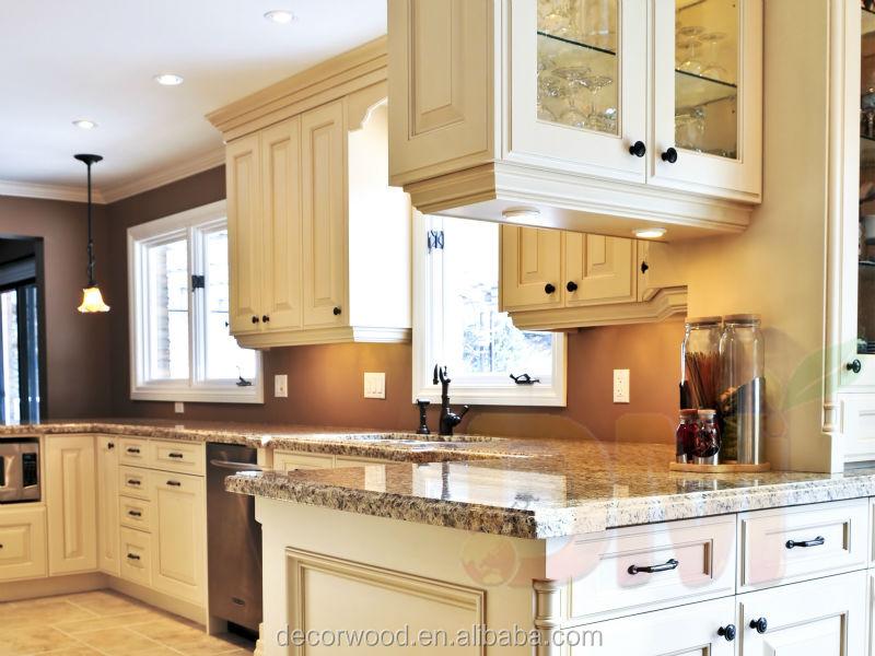 Hot ivoire bois de bouleau blanc armoires de cuisine for Armoire de cuisine vaudreuil dorion