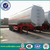 2015 HOT! 40000L carbon steel fuel tank truck semi trailer with best price