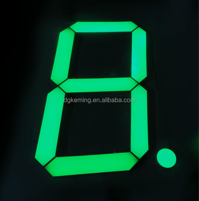 Ali express KEM 12 inch 7 segment led display for gas petrol station
