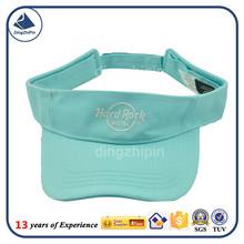 Light blue china Factory Sport Sun Visor Cap customized factory