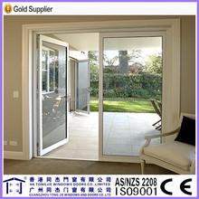 Home furniture new popular fashionable double glazing aluminium casement door