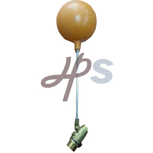 brass floating ball valve with plastic ball