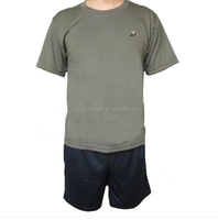 special price wholesale physical training fitness round collar short sleeve summer t shirt camouflage suit quick drying fabric