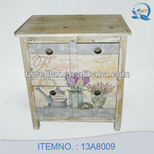 Shabby Chic Wooden Storage Wooden Cabinet Wooden Furniture