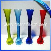 Unbreakable Glass Cups, Disposable Plastic Beer Cups, Glass Look Plastic Cup (SC004)