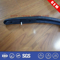 Square rubber sliding glass door seal strip rope