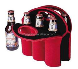 China Direct Manufacturer Neoprene 6 pack beer bottle holder,beer can holder