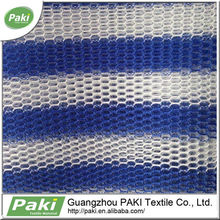 hot sale 3d air polyester printed mesh fabric for sport shoes