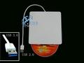 100% original blanco/plata grabadora de dvd externa usb3.0 blu ray con ranura de carga grabadora de DVD externa