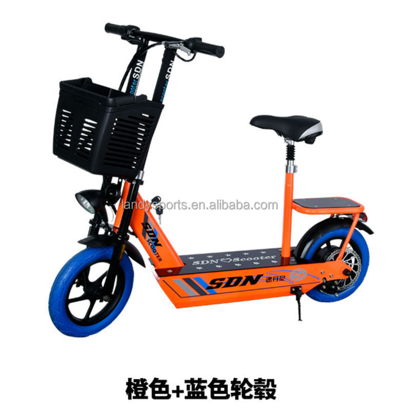China 2 Wheel Cheap Mobility Kick Scooter Electric Pedal