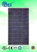 250 - 275W 60 cells TUV/MCS/UL/CEC/JET Taiwan Poly Solar Panel