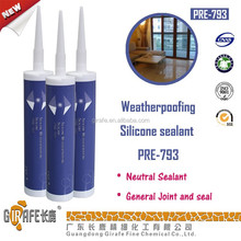 Weatherproof Construction Neutral Silicone Adhesive