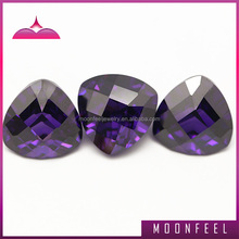 light purple triangle gemstones for decorating