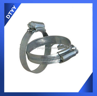 Fire Hose Coupling with SUS304 stainless steel 12mm British type clamp