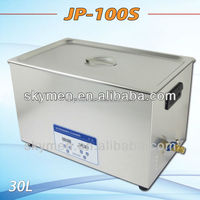 stainless steel industrial ultrasonic cleaner bath with mechanical timer