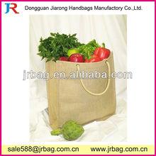 Supermarket Jute Fruit Totes bags household Packing Jute Bags