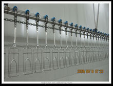 good performance chicken feet peeling machine poultry slaughtering production line hot sale