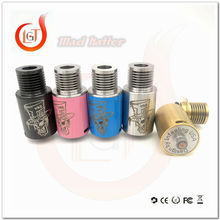 mad hatter rda Adjustable bottom Airflow design prevents leaking and provides super deep Juice well