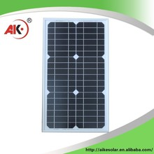 China Manufacturer best price 30 watt solar cells