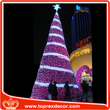 Direct manufacture pvc IP65 Outdoor artificial christmas tree parts