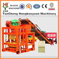 road construction equipment QTJ4-28 hydraulic brick forming machine seller