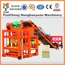 road construction equipment QTJ4-28 hydraulic brick forming machine seller