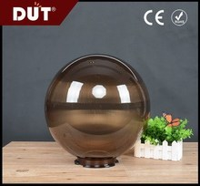 Unbreakable PMMA sphere lamp shade in Tea GD001-B-350