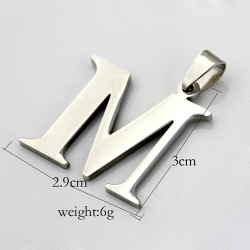 Bead Landing Wholesale Stainless Steel Alphabet Beads Custom Design
